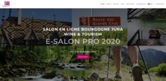 Salon virtuel Wine Tourism Bourgogne Jura